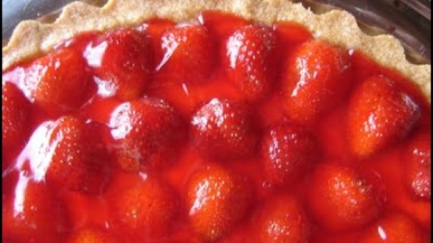 Torta de Morango Gelada
