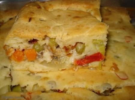 Torta Deliciosa de Sardinha   Irineu Moreira