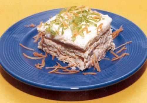 Torta Falsa de Camarão