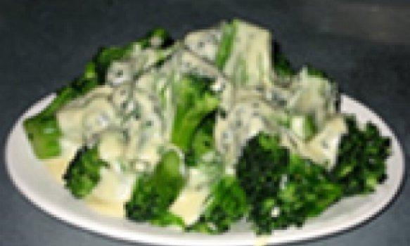 Brócolis com molho branco light