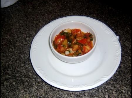 Molho de tomate refogado