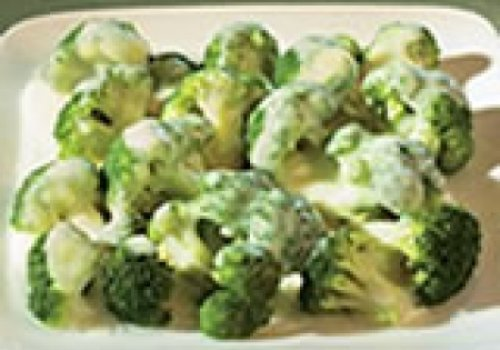 Brócolis com molho cremoso