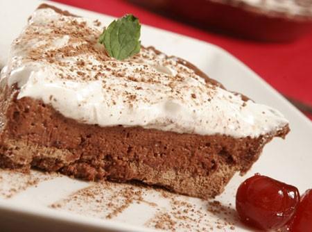 Torta de Chocolate com Marshmallow de Microondas
