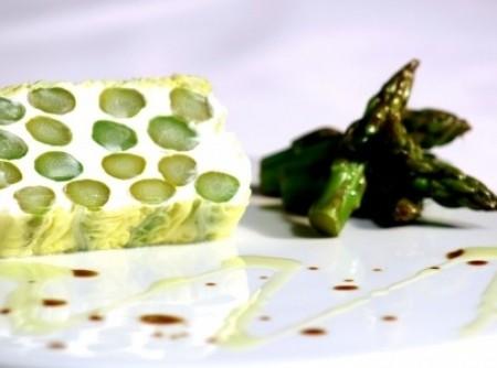 Terrine de aspargos e queijo de cabra | Fabio Demasi Levy