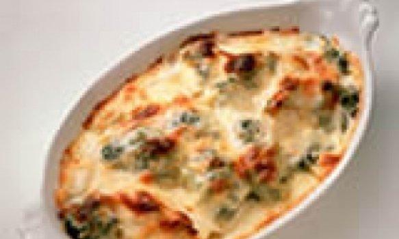 Brócolis com molho de queijo