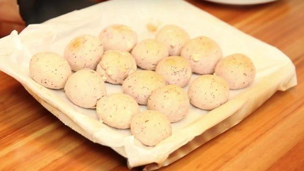 Pão de Beijo de Batata Doce