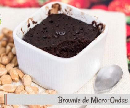 Brownie de Micro-ondas