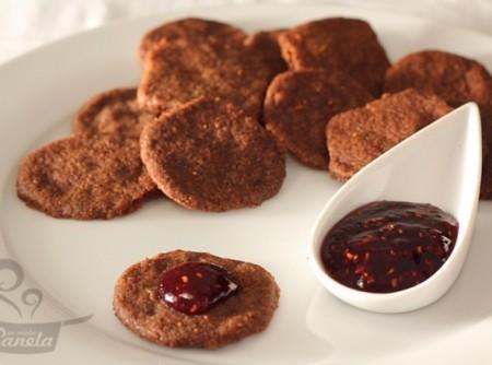 Biscoito de Chocolate com Canela