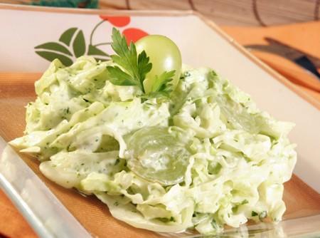 Salada verde de microondas | Douglas Aby Saber