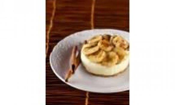 Torta de Bananas com Biscoito Aveia e Mel