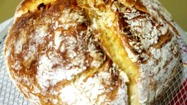 Pão Italiano na Panela