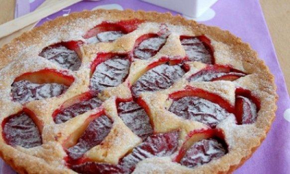 Torta Rústica de Ameixa