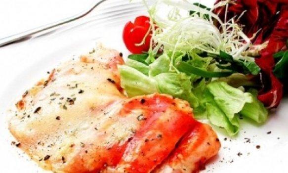 Frango alla parmigiana light