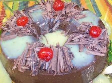 Pudim de Creme de Chocolate