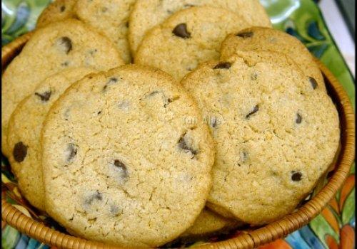 Cookies de Chocolate chip sem GLÚTEN