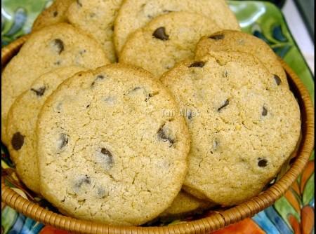 Cookies de Chocolate chip sem GLÚTEN | somilton lopes da silva