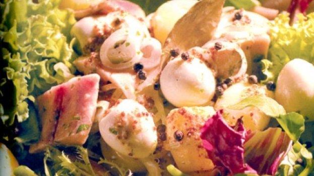 Salada de Arenque Marinado