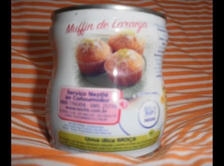 Muffins de laranja nestlé