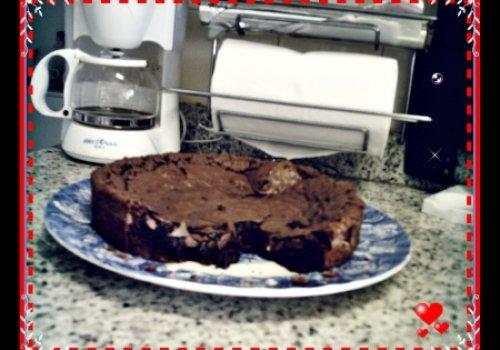 Brownie Fácil de Chocolate em Pó