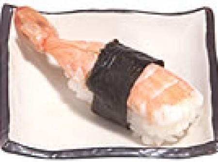 Sushi de Camarão - Ebi no Nigiri