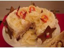 Torta trufada espanhola