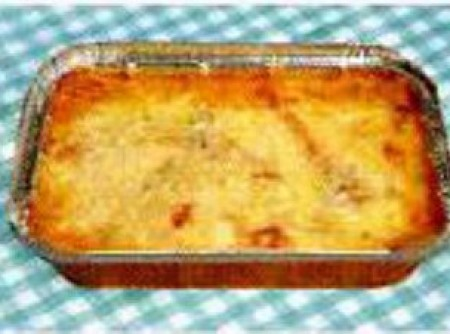 Lazanha de pão de forma