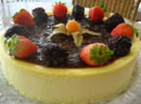 Semi Freddo com Salsa Ai Frutti Di Bosco