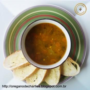 Sopa de Carne com Legumes | Charlles Nascimento