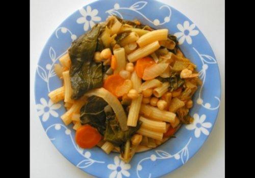 Tagliatelli com lima e cardomomo---vegetariana