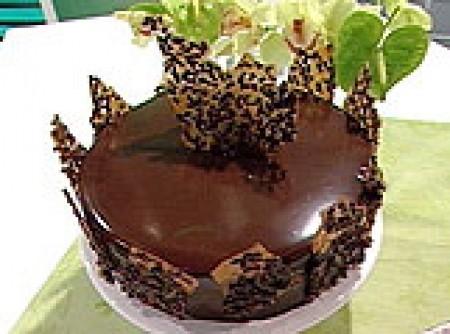 Bolo Chiffon de Chocolate (Alvaro Rodrigues)