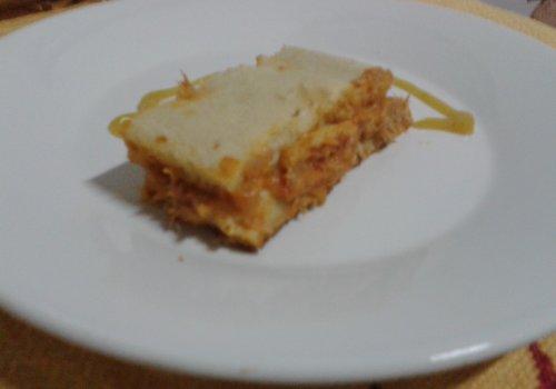 Torta de Atum Defumado com Provolone