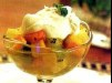 Salada de Frutas Flambadas