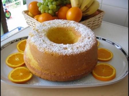 Bolo de laranja fofinho | nelcir matos