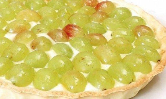 Torta de uva-itália