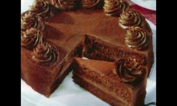 Torta de whisky e chocolate