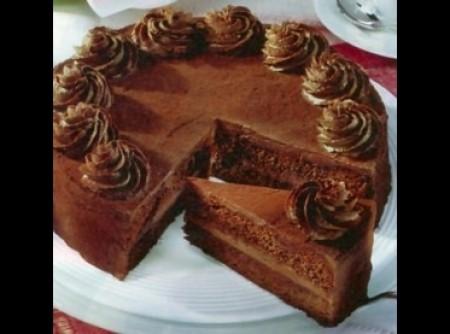 Torta de Whisky e Chocolate   CyberCook