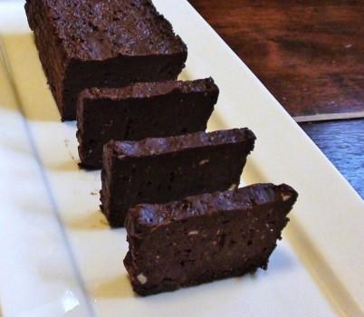 Terrine de Chocolate e Creme de Baunilha | Francis Anderson Novais de Araujo Goes