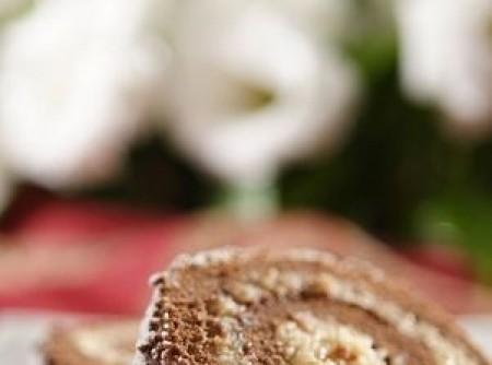 Rocambole de Chocolate e Coco com Fécula de Batata | Marcelo Freitasc Carvalho