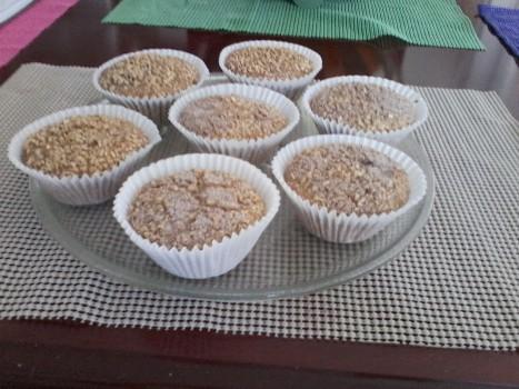 Cupcake de Banana com Aveia | MARINA BAUM PEDROSO