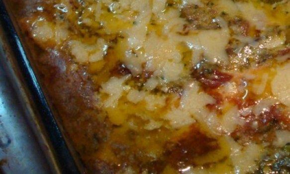 Lasanha de Berinjela Empanada