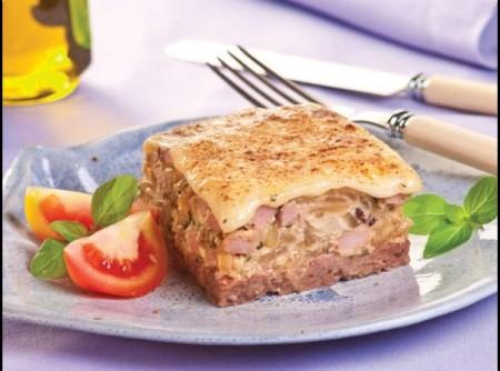 Torta diferente de carne moída | Silvana Cosentino
