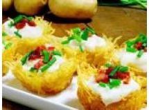 Ninhos de batata