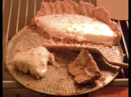Torta de Limão com Biscoito Maisena   Claudete D Amico