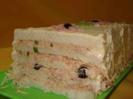 Torta Gelada de Pão