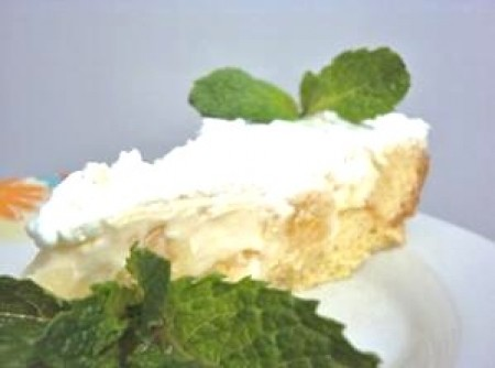 Torta Gelada de Abacaxi