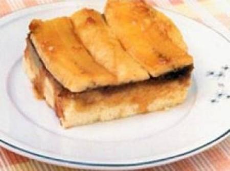 Torta de Banana Fácil com Granola