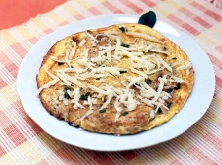 Omelete Ralado