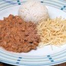 Estrogonofe de Carne Moída
