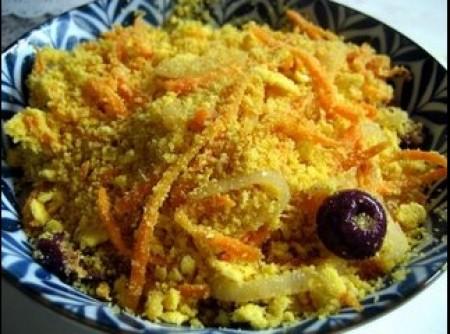 Farofa com cenoura
