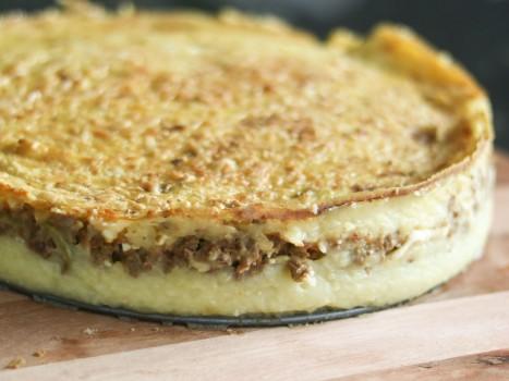 Bolo de Batatas com Carne Moída